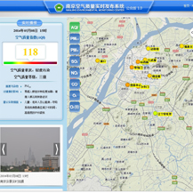 Air Quality Real Time Publishing System of Nanjing City