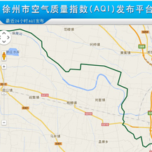 Air Quality Index (AGI) Releasing Platform of Xuzhou City